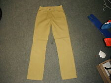 "Easy Lily Classic Fit Size 10 Leg 29"" Faded Mustard Ladies Jeans"