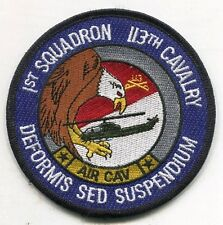 US Army 1st Squadron 113th Air Cavalry Color Patch
