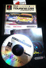 TOCA TOURING CAR CHAMPIONSHIP Sony PSX PlayStation PAL Español CODEMASTERS