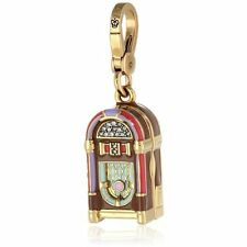 Juicy Couture Blue JUKEBOX CHARM in pink gift box NWT