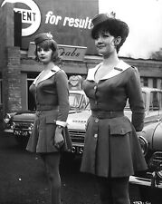 "Carole Shelley and Amanda Barrie Carry On Cabby 10"" x 8"" Photograph"
