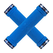 Lizard Skins Bear Claw Lock On MTB Handlebar Grips - Ice Blue