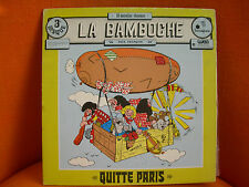 VINYL 33T – LA BAMBOCHE : QUITTE PARIS – FRENCH PSYCH FOLK GENRE MALICORNE – 77
