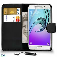 For Samsung Galaxy A3 (A310F) 2016 PU Leather Wallet Case Cover Mini Stylus SP
