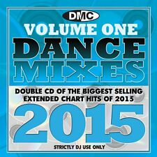 DMC DJ Only Dance Mixes 2015 Vol 1 Dance Music Double CD Set