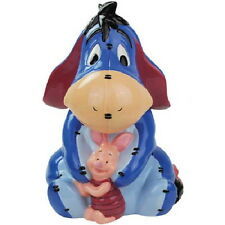 Walt Disney's Winnie the Pooh, Piglet and Eeyore Ceramic Cookie Jar, 2012 UNUSED
