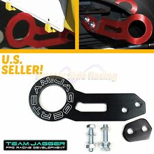 FITS ACURA HONDA CHASSIS JDM LOOKS TRACK BLACK TEAM JAGGER REAR MOUNT TOW HOOK