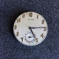 VINTAGE 38.5MM E. HOWARD OPENFACE POCKET WATCH MOVEMENT