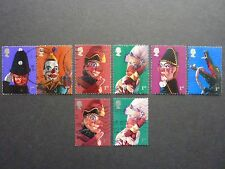 2001 Punch and Judy set of eight (8) Royal Mail stamps fine used (S.G.2224-2231)