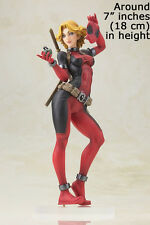"Marvel Legends X-men Deadpool Lady 7"" inches 18cm Sexy Girl Figure Model Statue"