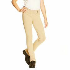 Boys/Girls -- Ariat English Breeches Heritage Knit Jodphurs - Tan - Size 12 / L