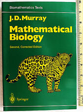 Mathematical Biology 2nd Edition 1993 Murray Springer Verlag Biomedical Science