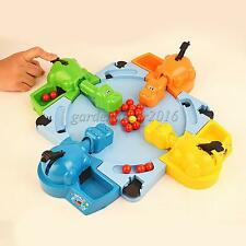 Set of Grab & Go Hungry Hippos Marble-Swallowing Fun Board Game Table Toy