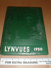 1950 Lynn View High School vintage yearbook Kingsport TN Tennessee vol #2 rare