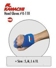 Kamachi GYM GLOVES PADDED FOR WEIGHT LIFTING EXERCISE SIZE: LARGE