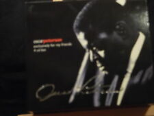 Oscar Peterson - Exclusively for my friends   4 CD-Box