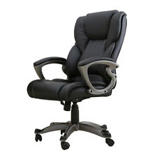Executive Manger PU Leather Office Chair High Back Desk Conference Office Room