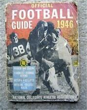 1946 Official NCAA College Football Rules Guide Book
