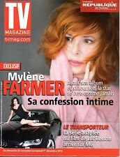 TV MAGAZINE 2012: MYLENE FARMER_DELPHINE CHANEAC_WHOOPI GOLDBERG