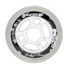 8 Pezzi Rotoli POWERSLIDE X-TYPE ROTELLE OF FAME 84mm 83A INLINER velocità RUOTE