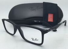New RAY-BAN Rx-able Eyeglasses/Frames RB 7023 2077 53-17 Matte Black w/ Clear