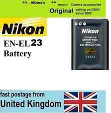 Genuine Original NIKON EN-EL23 Battery CoolPix P600 P610 P900 S810c