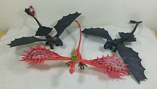 How to Train Your Dragon Figure Toothless Night Fury Defenders Of Berk LOT OF 3