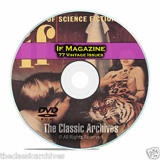 IF Magazine, 77 Vintage Pulp Issues, Golden Age Science Fiction DVD CD C58