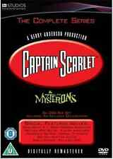 Captain Scarlet & The Mysterons : THE COMPLETE SERIES = NEW DVD BOXSET