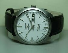 VINTAGE LONGINES AUTOMATIC ADMIRAL DAY DATE SWISS MENS WRIST WATCH J82 OLD USED