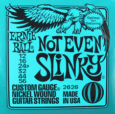 Ernie Ball 2626 Not Even Slinky Nickel Wound Guitar Strings 12-56