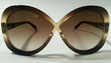 TOM FORD LADIES BROWN SUNGLASSES - FT226 47F - OVERSIZED - CLEARANCE PRICE