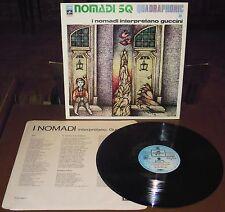 LP NOMADI Interpretano Guccini (Columbia 74) 1st ps quadraphonic beat inner NM!