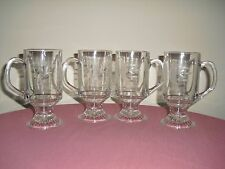 Princess House HERITAGE COLLECTION Footed Mugs