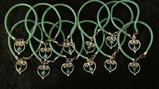 Hearts of Hope 1DZ Teal Ovarian Cancer Bead Bracelets  Free Shipping