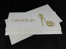 Personalised Hand Made Money / Gift Voucher Wallet Any Occasion
