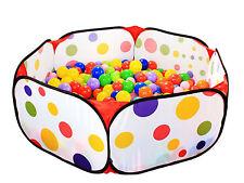 Outdoor / Indoor Kids Game Play Children Toy Tent Portable Ocean Ball Pit Pool