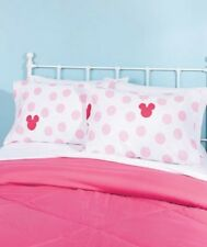 Kids 2 Pk Minnie Mouse Silhouette Character Pillowcases Bedroom Decor