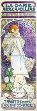 Art Colorful Alfons Mucha Ceramic Mural Backsplash Bath Tile #2031