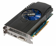 HIS AMD Radeon HD7850 Fan 1GB GDDR5 HDMI 2x Mini DP DVI HDMI PCI-E Graphics Card