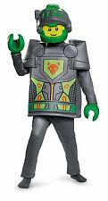 LEGO Nexo Knights Aaron Deluxe Costume for Kids M gray New