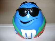 M&M's COOL BLUE IN NIGHT ROBE m&m CANDY COOKIE JAR.
