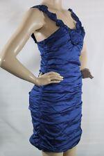 NEW BCBG MAX AZRIA DRESS SLEEVELESS MEGAN BLUE SZ 10 STYLE#MIT6N119 COBALT/10