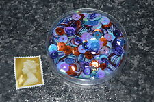 Loose Round Cupped Sequins Mixed Sewing Card Making Embellishments