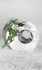 Beau  Vase Déco en céramique Edelweiss Hauteur 19 cm