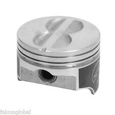 SPEED PRO Chevy 400 Hypereutectic Flat Top 4VR Pistons+MOLY Ring Kit 10.9:1 +30