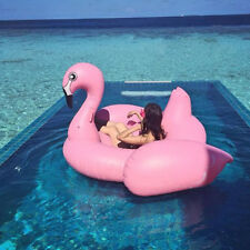 Swimline Swimming Pool Inflatable Giant Rideable Pink Child Flamingo Float Toy