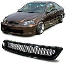 Front black finish sport grill radiator grille for Honda Civic 95-98 EJ EK EM1