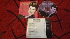 LIBERTAD LAMARQUE ***Canciones y Boleros De Siempre*** SCARCE 1995 Spain CD