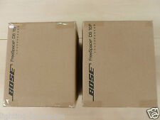 NEW! Pair Bose Black FreeSpace DS 16F Quick Install Flush Ceiling Wall Speakers.